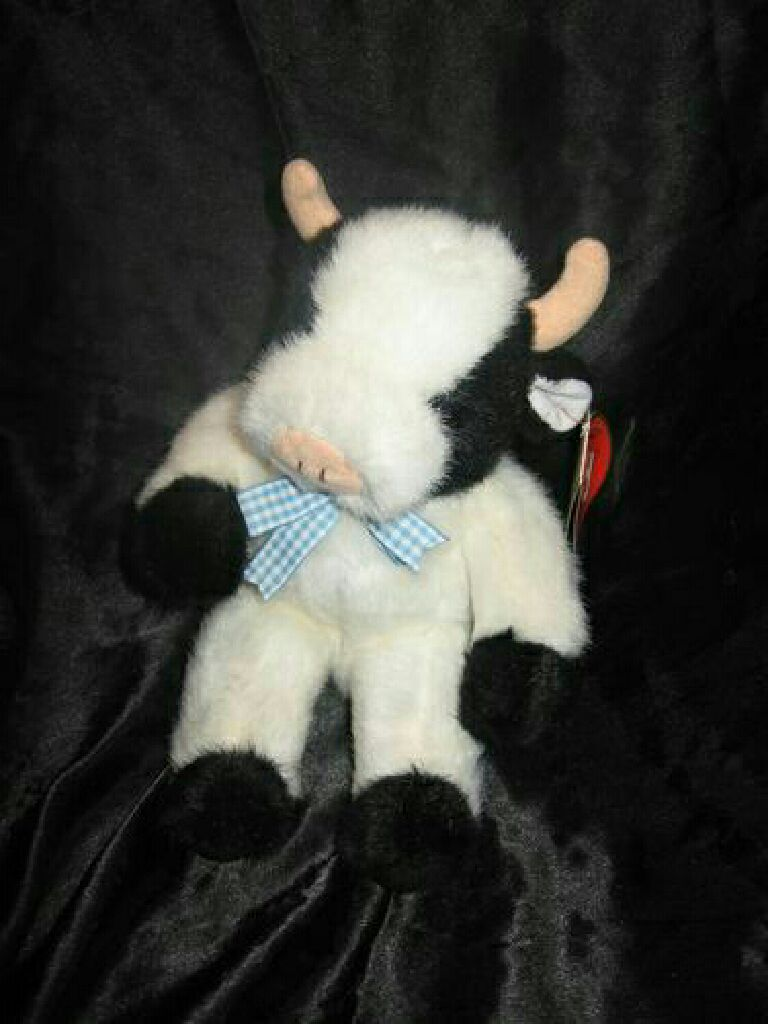 Madison the cow V3 Beanie Baby (6035) front image (front cover) bf4a596e5fbe