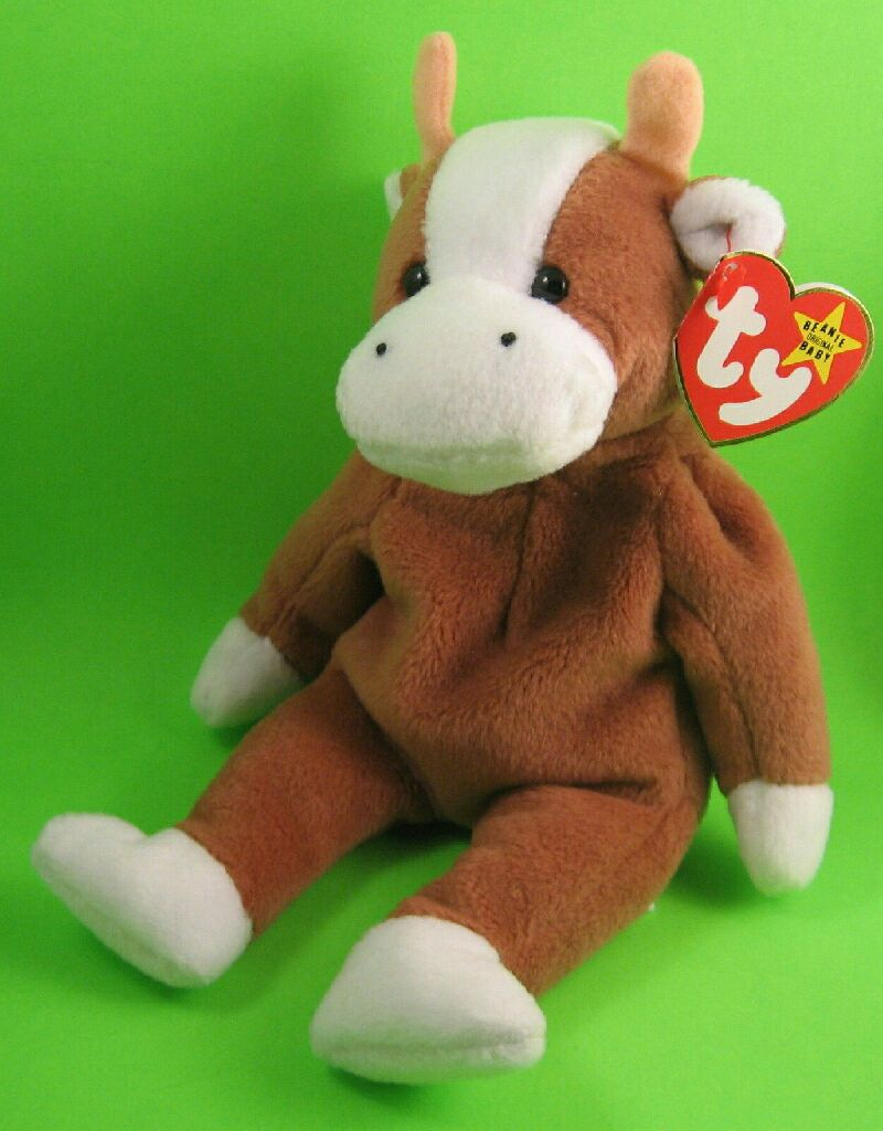 Bessie the cow Beanie Baby (4009) front image (front cover) 1c999b12d2a
