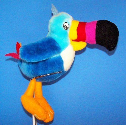 Toucan Sam Beanie Baby - Pattern front image (front cover) 70dd939a6ce