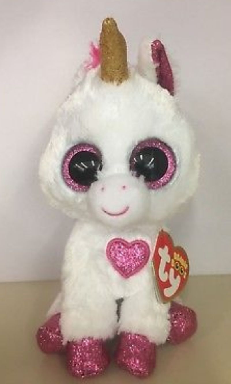 Cherie Beanie Baby - White (36441) front image (front cover)