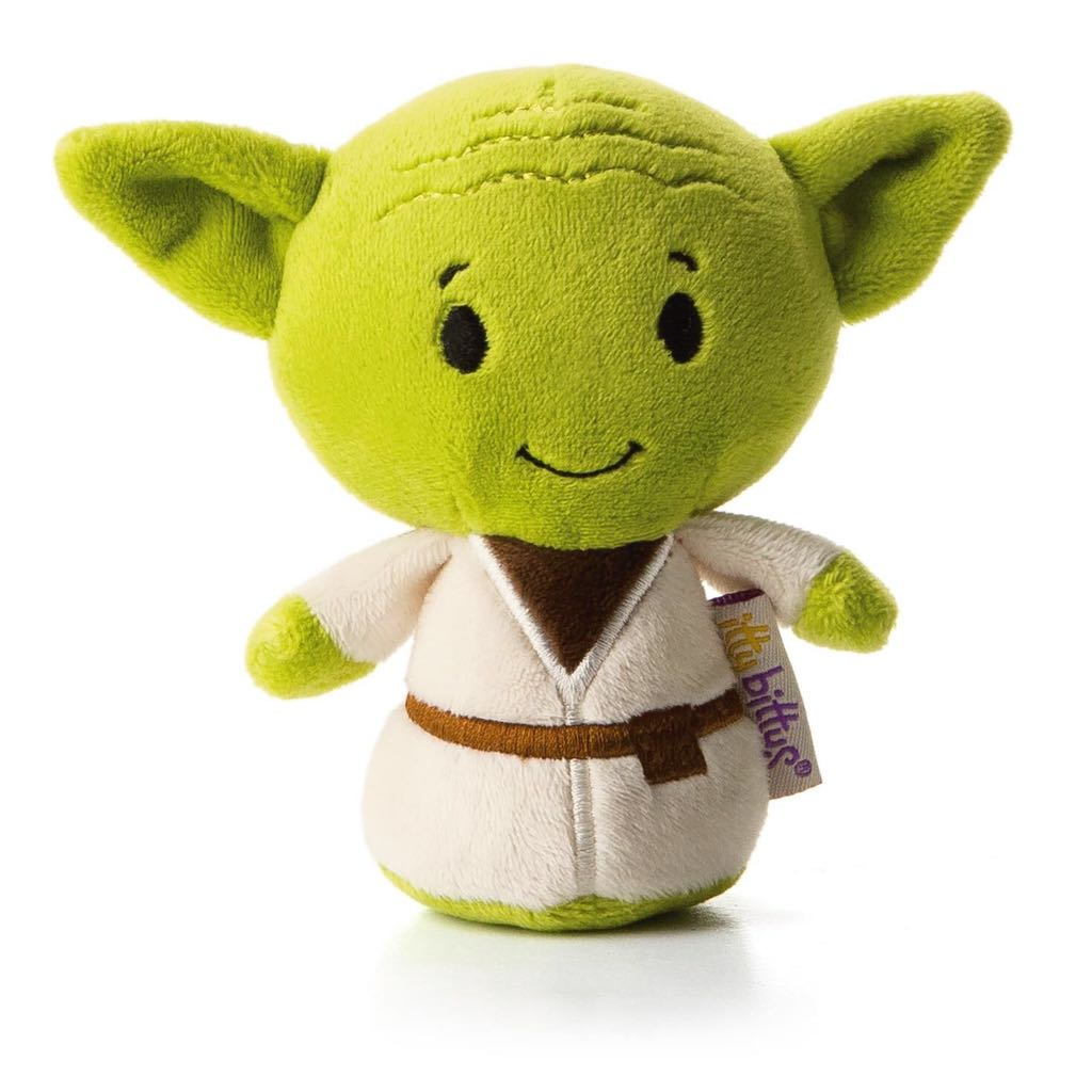 Yoda: itty bittys Beanie Baby front image (front cover)