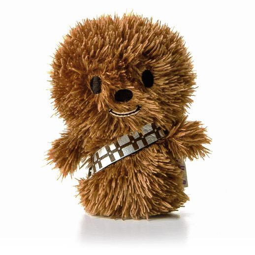 Chewbacca: itty bittys Beanie Baby front image (front cover)