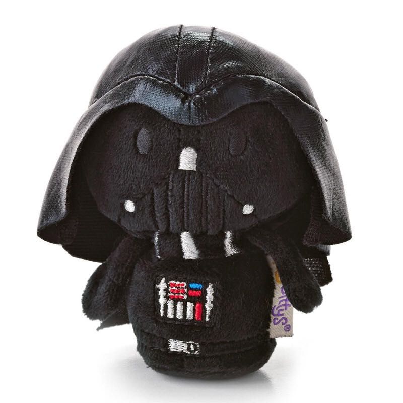 Darth Vader: itty bittys Beanie Baby front image (front cover)
