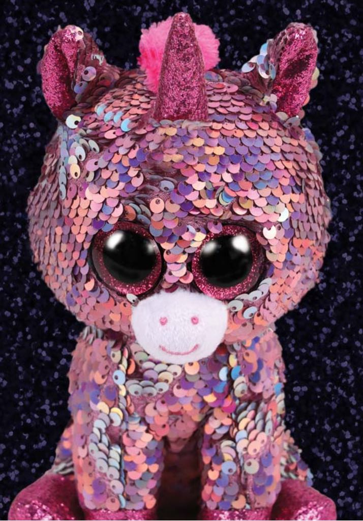 Sparkle Beanie Baby - Pink front image (front cover)