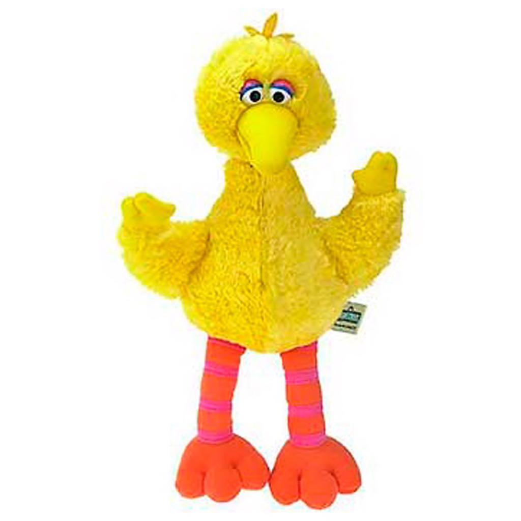 Big Bird - Sesame Street [Gund] Beanie Baby front image (front cover)
