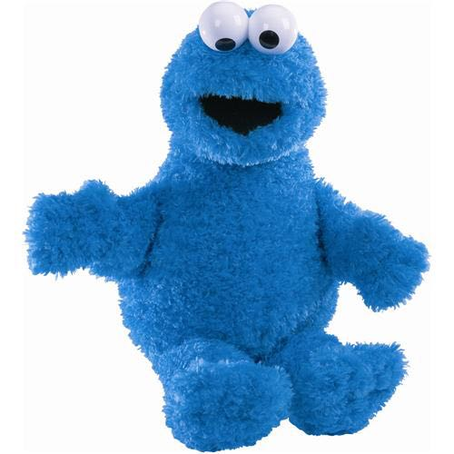 Cookie Monster - Sesame Street [Gund] Beanie Baby front image (front cover)