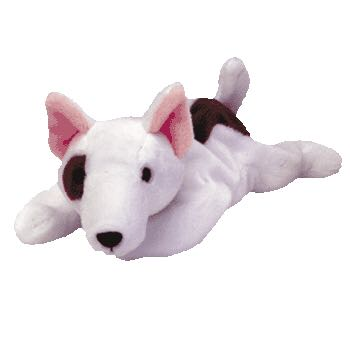 Butch The Bull Terrier Beanie Baby front image (front cover)