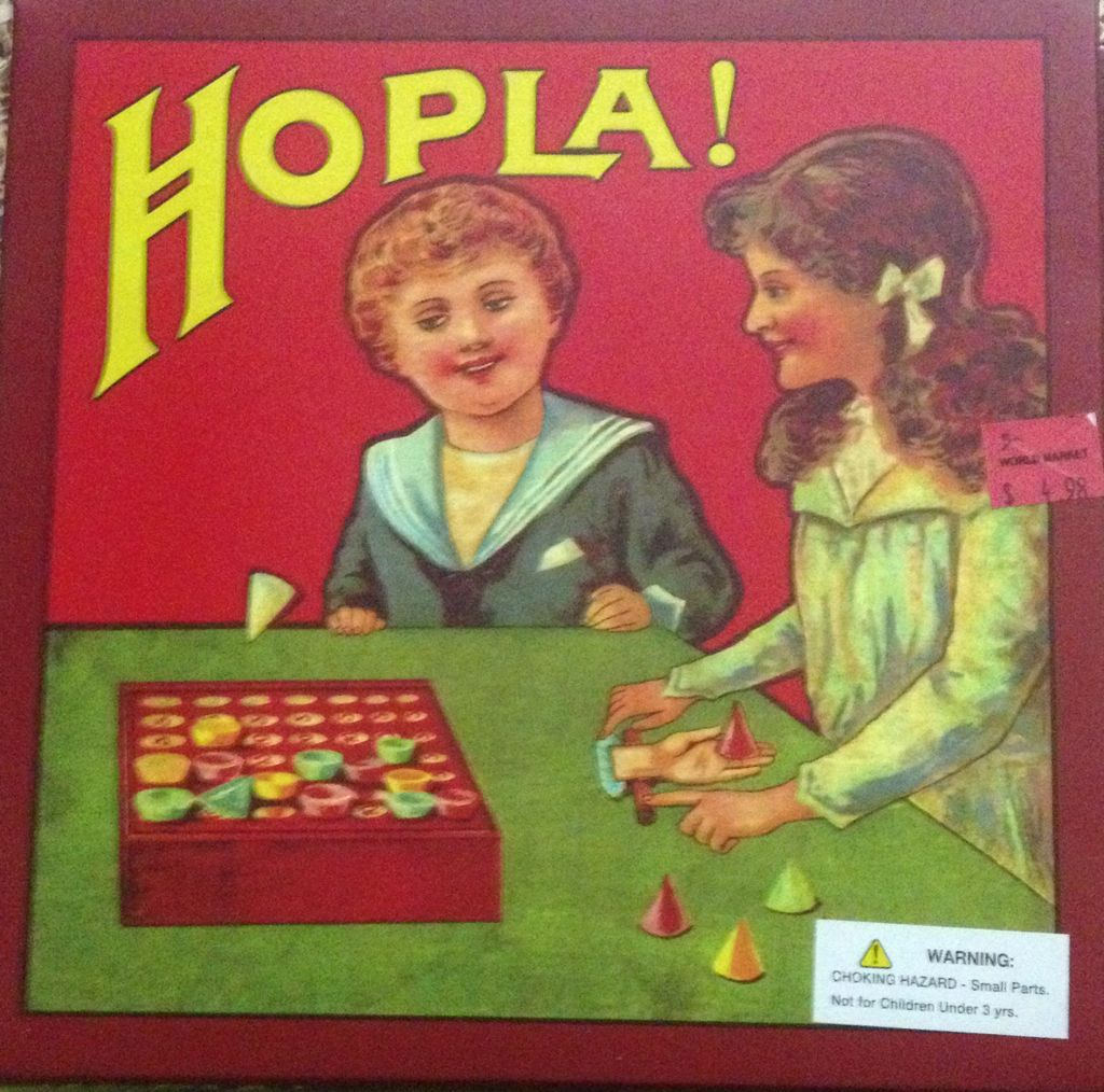 Hopla! Board Game - Ecotronic Ltd front image (front cover)