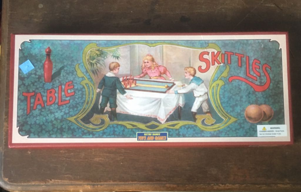 Table Skittles Board Game - Retro Range Toys And Games (Action*Sports) front image (front cover)