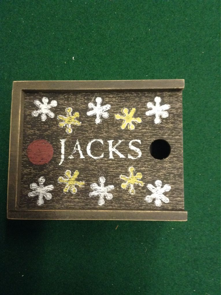Jacks Board Game front image (front cover)
