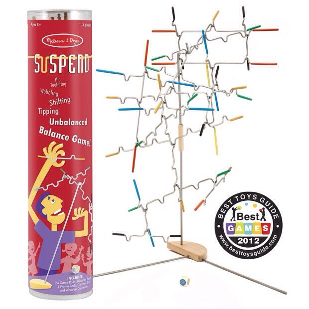 Suspend Board Game - Melissa & Doug (Building) front image (front cover)
