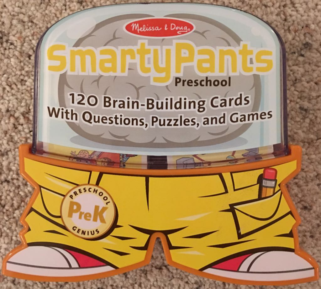SmartyPants : Preschool Board Game - Melissa & Doug (Children's Game) front image (front cover)