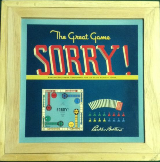 Sorry! Board Game (Strategy) front image (front cover)