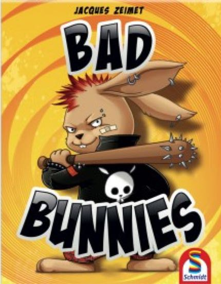 Bad Bunnies Board Game - Schmidt front image (front cover)