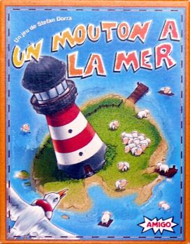 Un Mouton a la Mer Board Game - Amigo (Card Game*Number) front image (front cover)