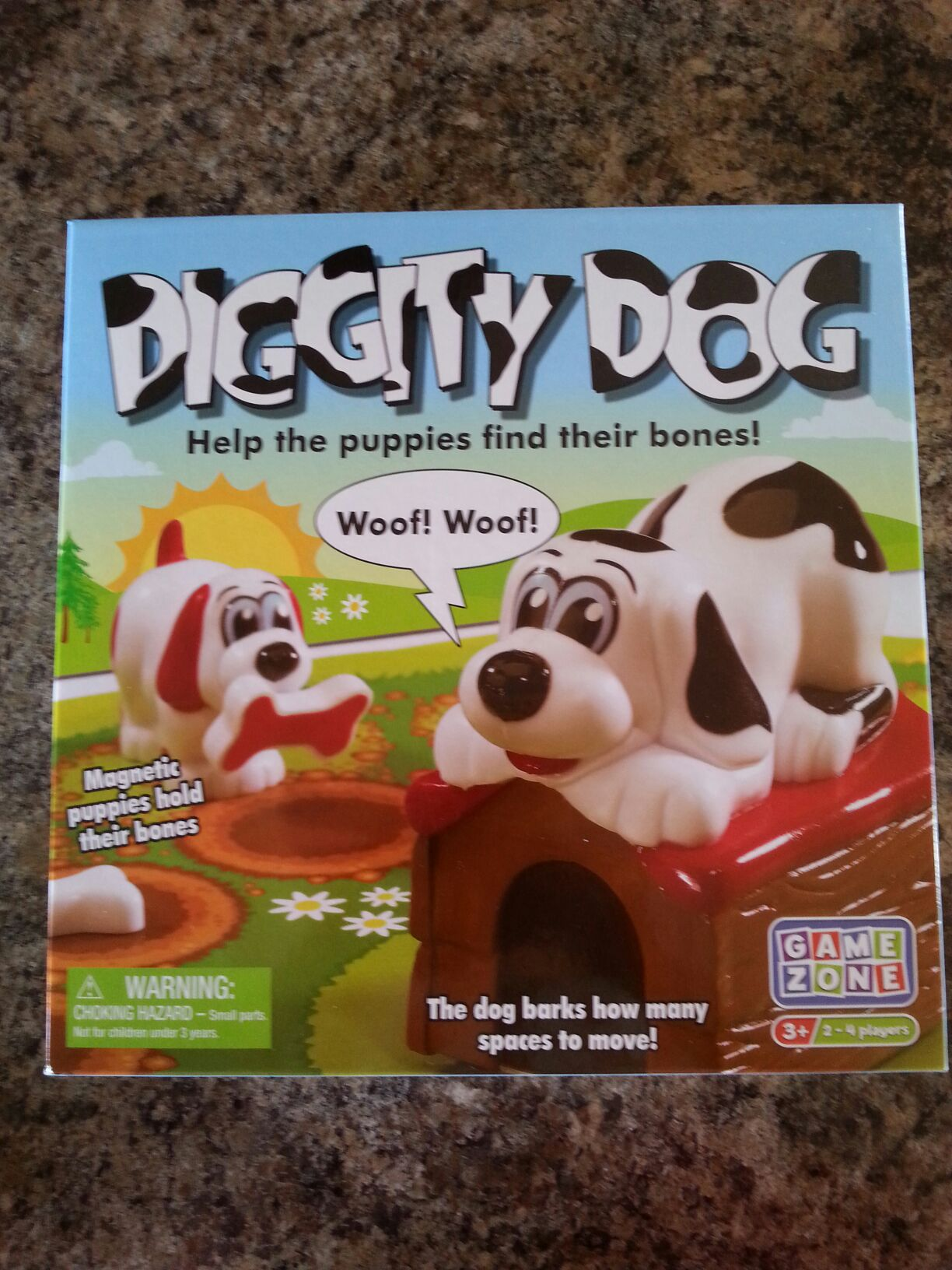 Diggity Dog Board Game front image (front cover)