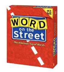 Word On The Street Board Game - Out Of The Box (Word Game) front image (front cover)