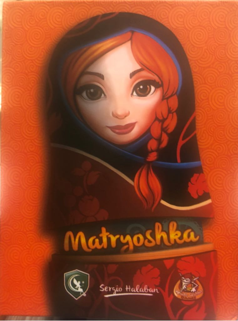 Matryoshka Board Game - White Goblin Games (Card Game) front image (front cover)