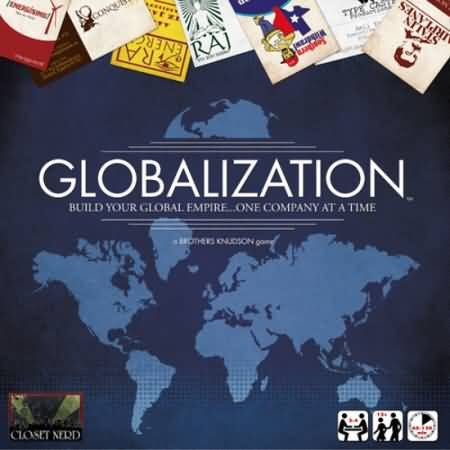 Globalization Board Game front image (front cover)