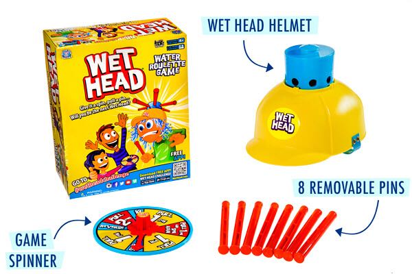Wet Head Board Game - Zing back image (back cover, second image)