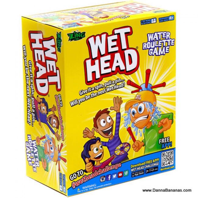 Wet Head Board Game - Zing front image (front cover)