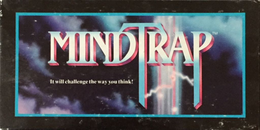 MindTrap Board Game - Great American Puzzle Factory (Educational*Party Game) front image (front cover)