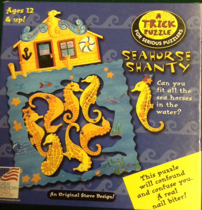 Seahorse Shanty Board Game (Puzzle) front image (front cover)