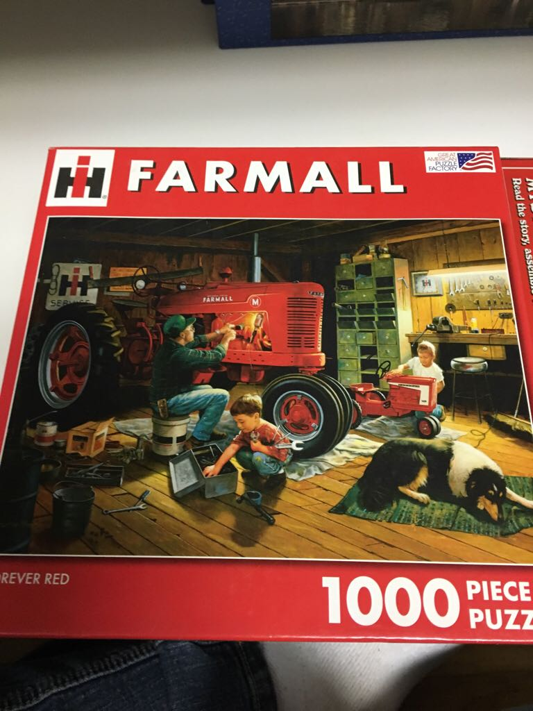 Puzzle 1000 Tractor Board Game (Puzzle) front image (front cover)