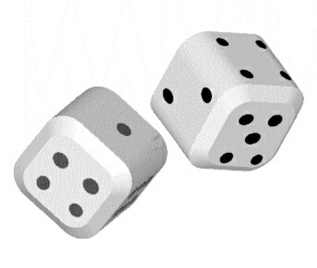 LoAdeD DiCE Board Game (Dice) front image (front cover)