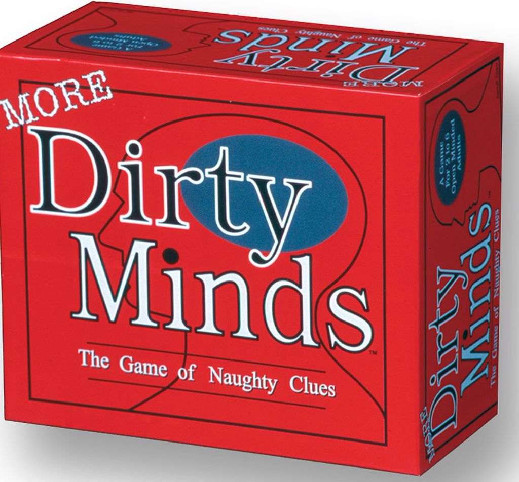 More Dirty Minds Board Game front image (front cover)