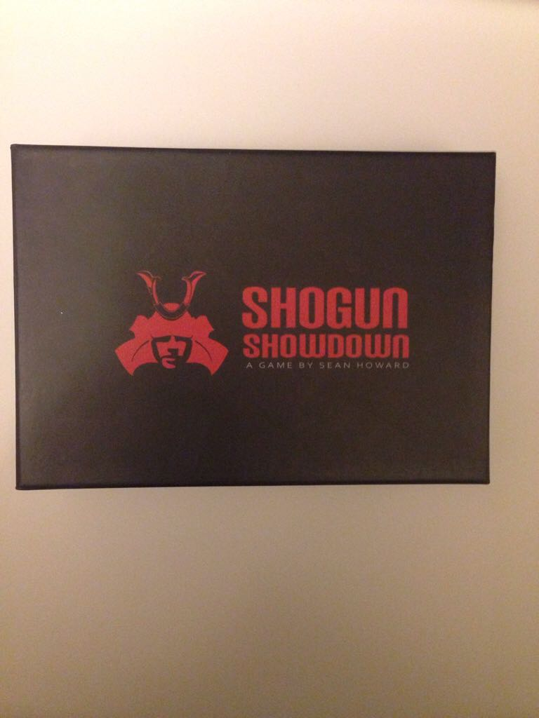 Shogun Showdown Board Game - Good Knight Games, LLC (Card Game) front image (front cover)