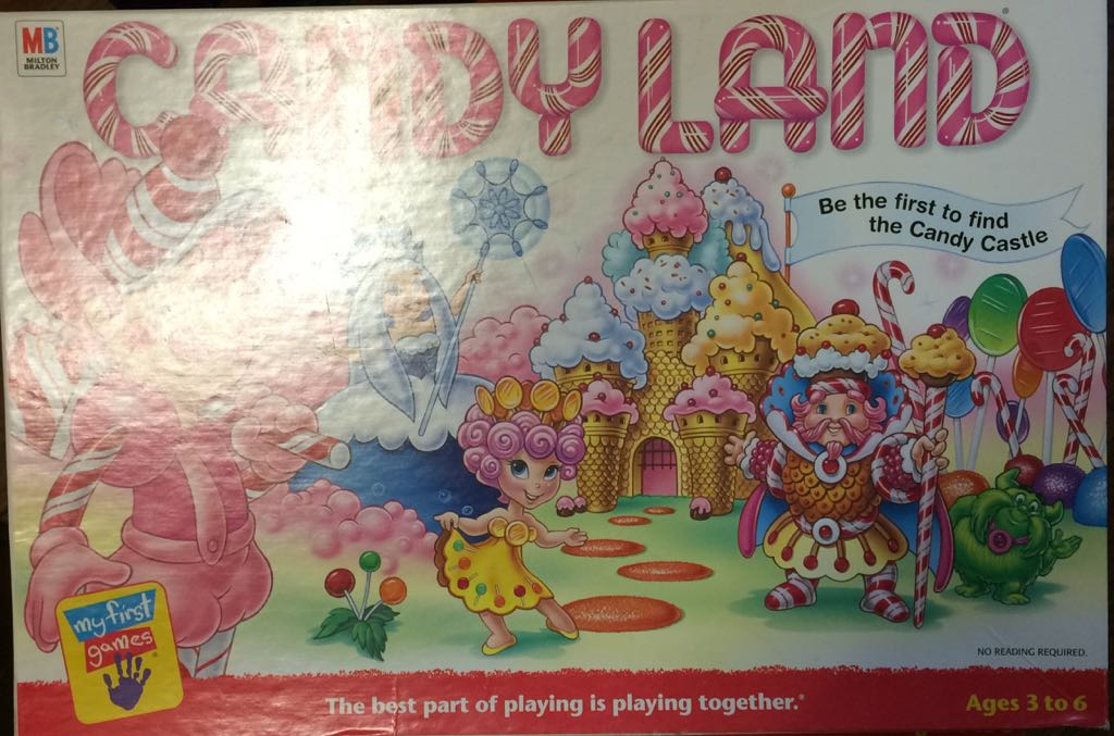 Candyland Board Game Hasbro Childrens Game From Sort It Apps