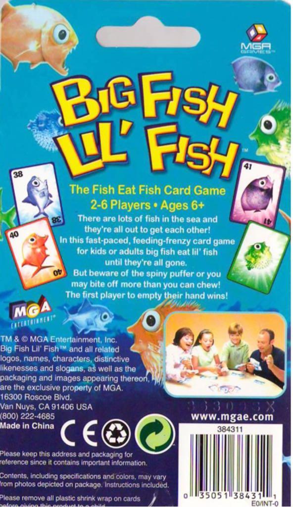 Big fish lil' fish board game mga entertainment (children's game.
