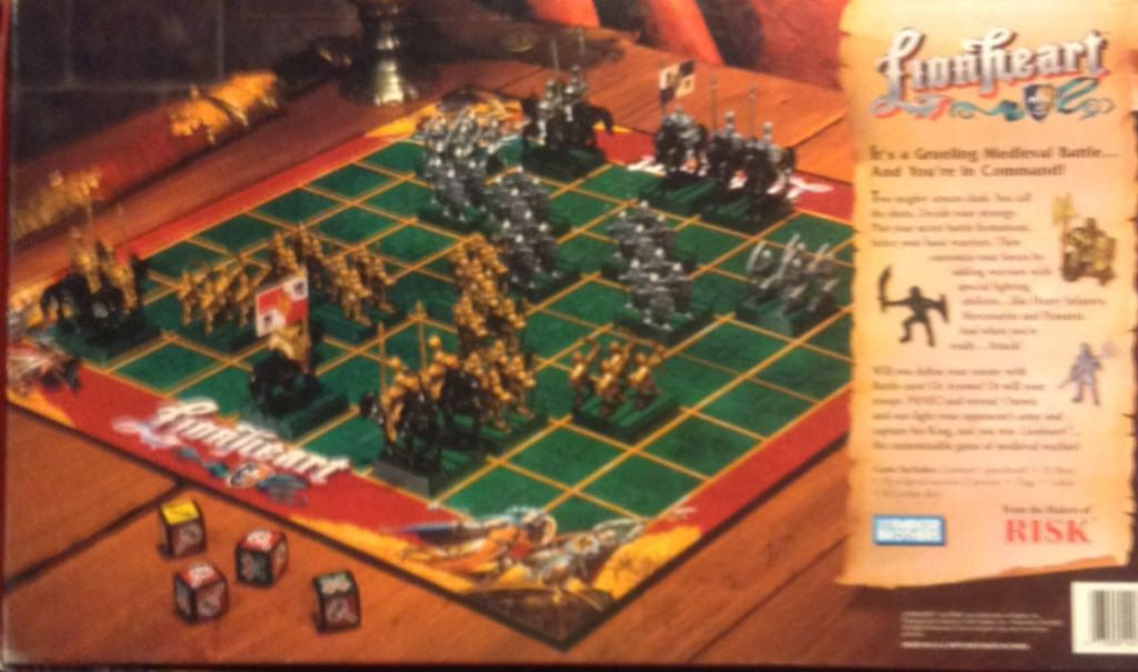 Lionheart Board Game Parker Brothers From Sort It Apps