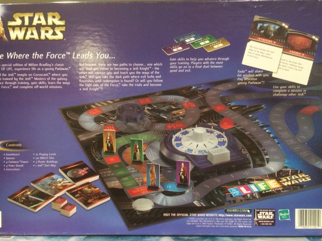 You Choose Star Wars A Jedi/'s Path 2002 Life Board Game Parts /& Pieces Only