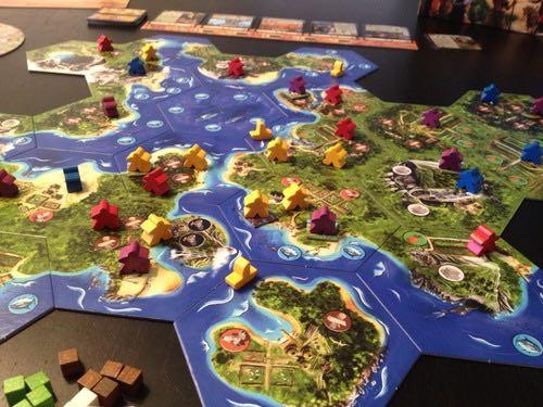 Archipelago Board Game - Ludically (Nautical*Exploration*Economic*Cooperative) back image (back cover, second image)