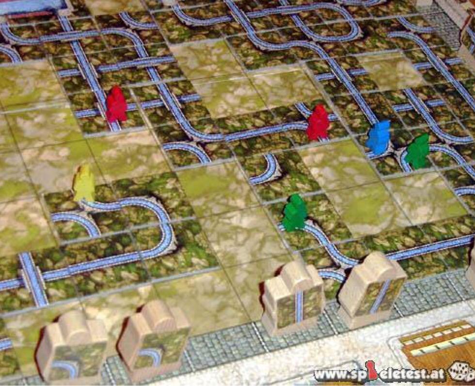 Aqua Romana Board Game - Queen Games (Ancient*Building*Strategy