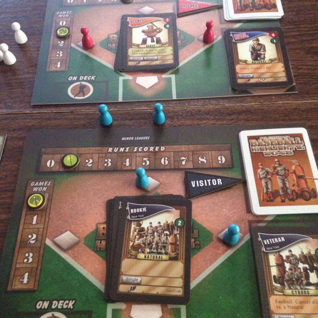 Baseball Highlights 2045 Board Game Eagle Gryphon Games