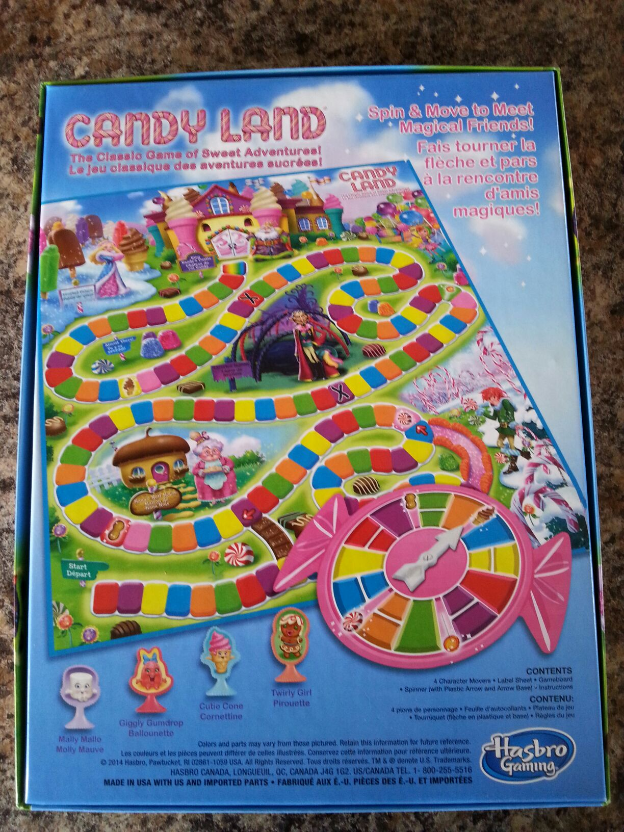Candyland Board Game - hasbro - from Sort It Apps