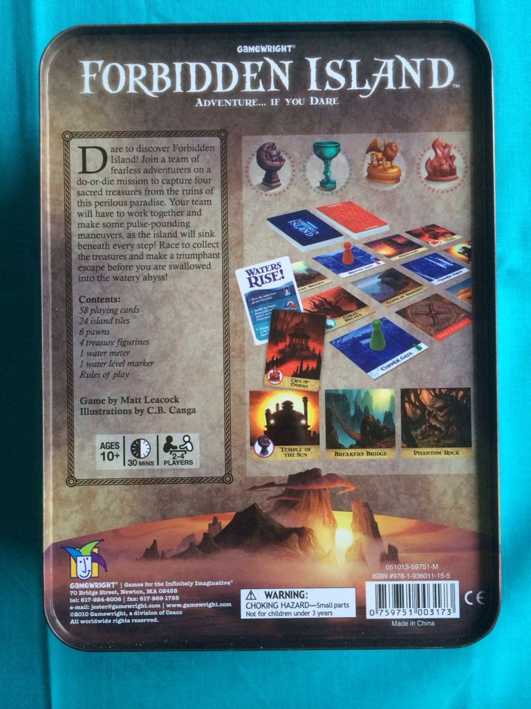 world of board games forbidden island Welcome to board game exchange bgx is the nationwide rental service that delivers the board games you want directly to your front door.