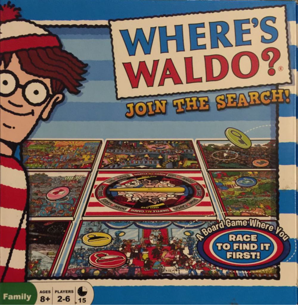 Wheres Waldo? Join the Search Game