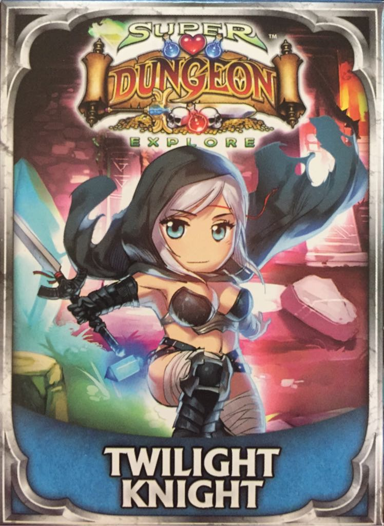 Super Dungeon Explore Twilight Knight Board Game Soda Pop Miniatures From Sort It Apps