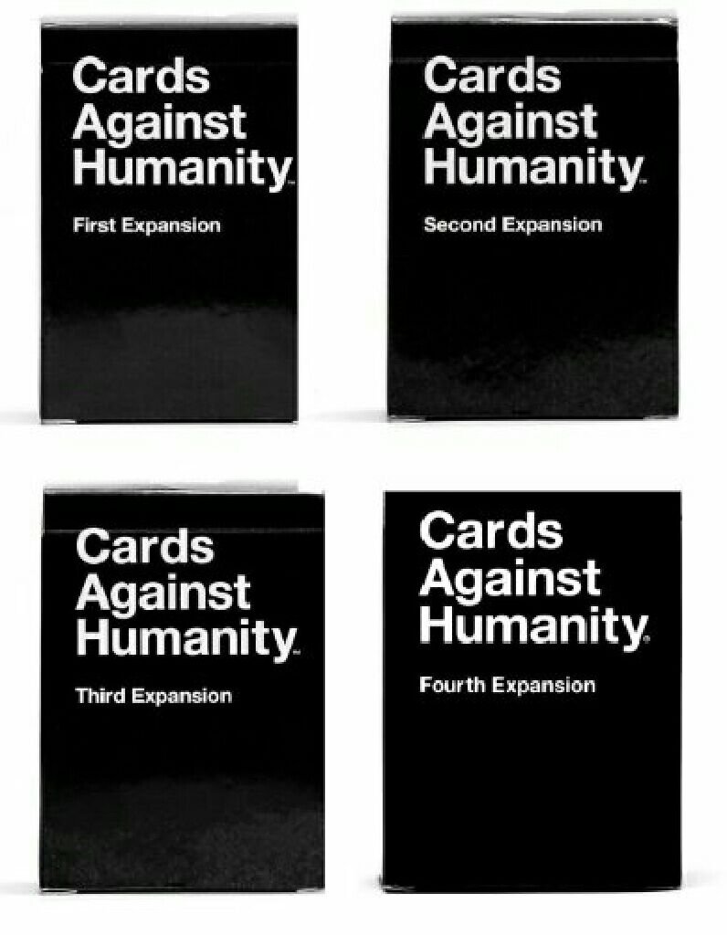 Cards Against Humanity, Expansion Pack 4 Board Game - Cards Against ...
