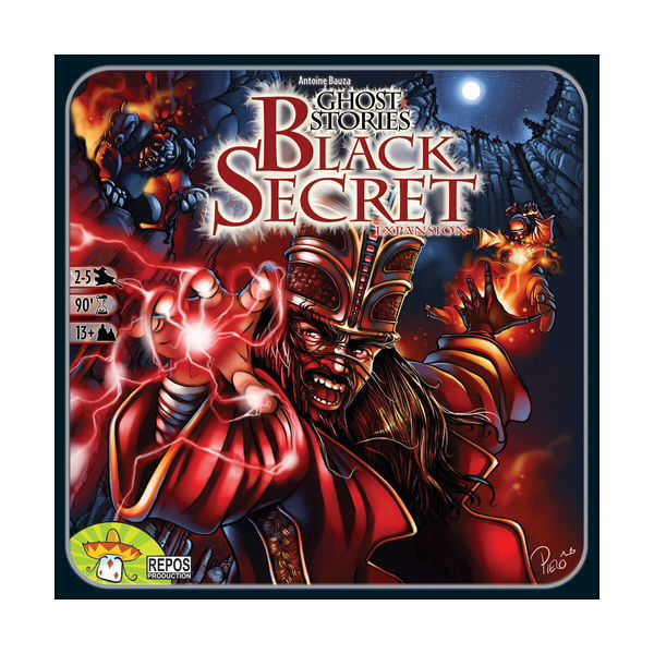 Ghost Stories : Black Secrets Board Game (Expansion) - from