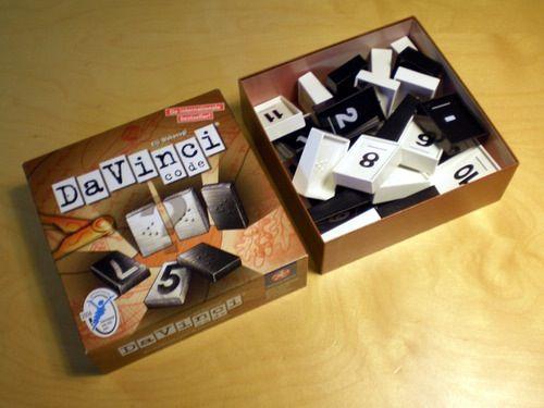 Da Vinci Code Board Game - Winning Moves (Number) back image (back cover, second image)