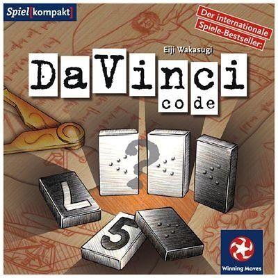 Da Vinci Code Board Game - Winning Moves (Number) front image (front cover)