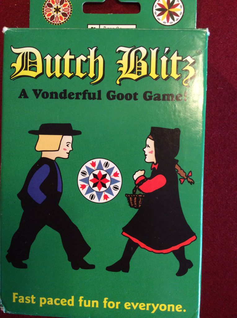 Dutch Blitz Board Game Dutch Blitz Games Company Card Game