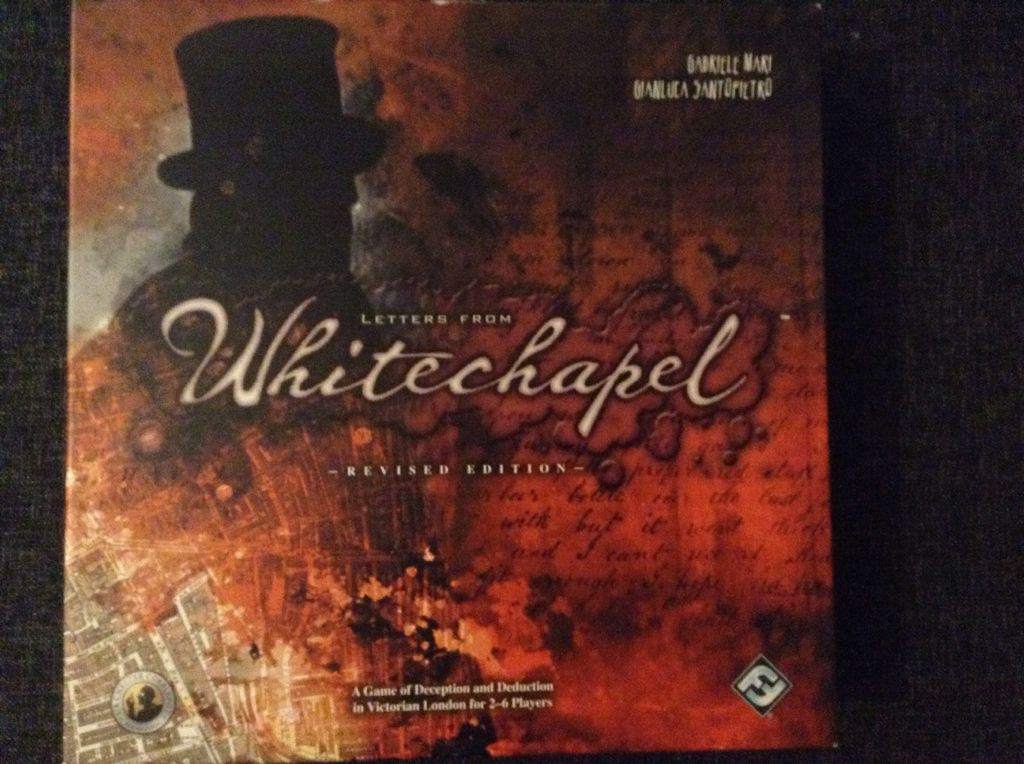 Letters From Whitechapel Board Game Fantasy Flight Games Murder