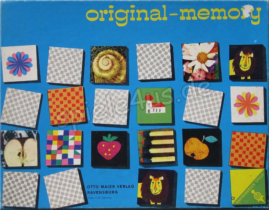 Original Memory Board Game - Ravensburger - from Sort It Apps