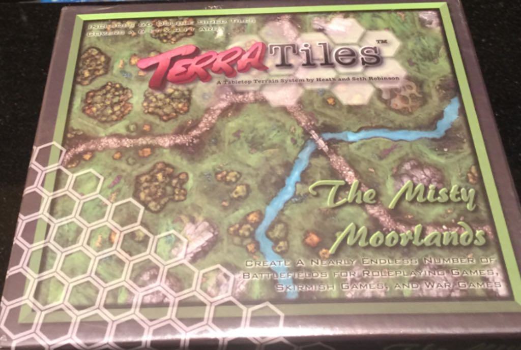 Terra Tiles 'the Misty Moorlands' Board Game - from Sort It Apps